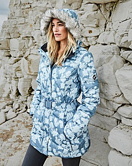 Snowdonia Printed Down Filled Jacket
