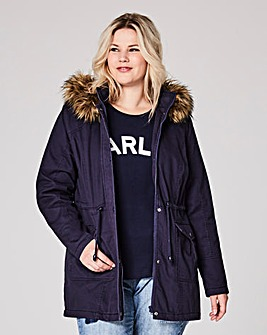 Navy Value Parka