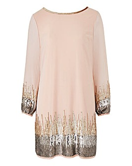 Joanna Hope Sequin Tunic