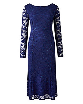 Joanna Hope Sequin Lace Dress