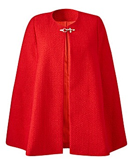 Joanna Hope Boucle Cape
