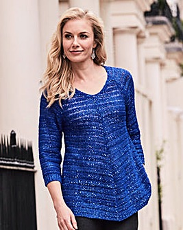 Joanna Hope Sequin Jumper