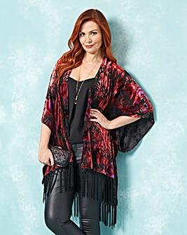 JOANNA HOPE Devore Kimono