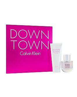 Calvin Klein Downtown 2pc Giftset