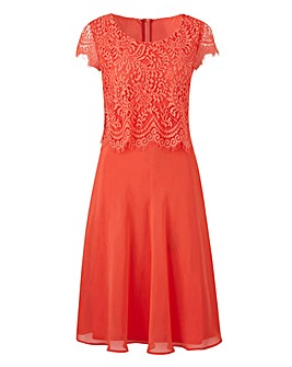 Together Lace Overlay Dress