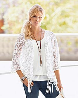 Together Lace Kimono