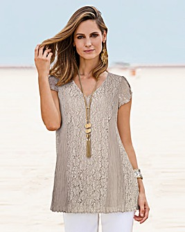 Together Lace Tunic