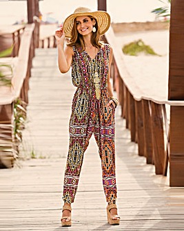 Together Print Jumpsuit