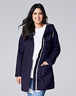 Hooded Contrast Jacket