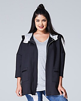 Heavy Jersey Hooded Jacket