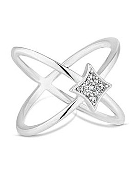 Simply Silver open band ring