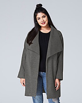 Oversized Collared Coat