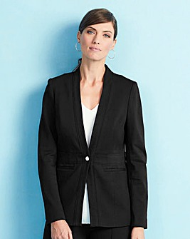 Tailored Ponte Jacket