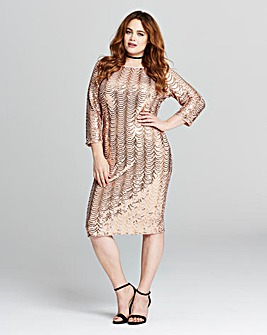 Joanna Hope Sequin Dress