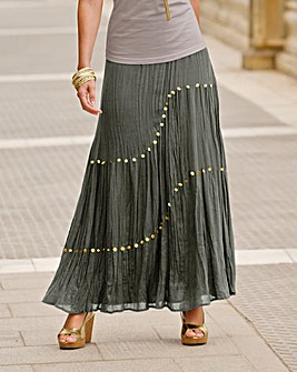 Together Crinkle Maxi Skirt
