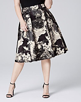 Printed Prom Skirt