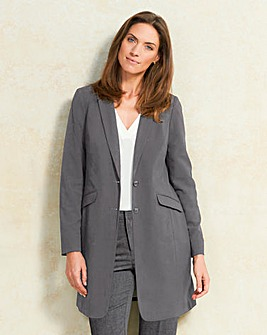 Mix and Match Longline Tailored Jacket