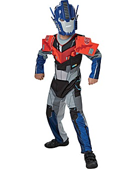 Transformers Dlx Optimus Prime Costume