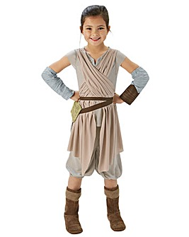 Star Wars The Force Awakens Rey Dlx Lg