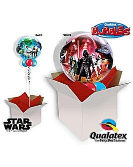 Star Wars Bubble Balloon In A Box