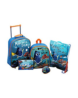 Finding Dory 5 Piece Luggage Set