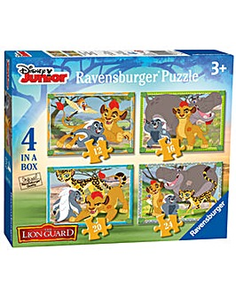 Disney The Lion Guard 4 In A Box Puzzle