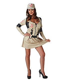Ladies Ghostbuster Dress Costume
