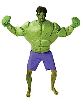 Adult Inflatable Incredible Hulk Costume
