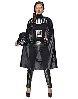 Adult Female Darth Vader Costume