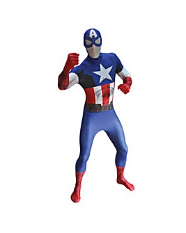 Captain America Adult Unisex Morphsuit