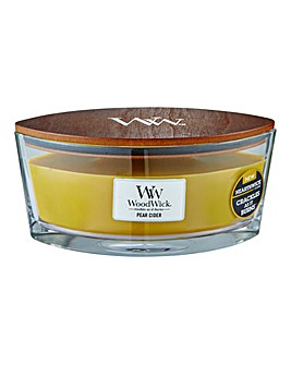 WoodWick Pear Cider HearthWick Candle