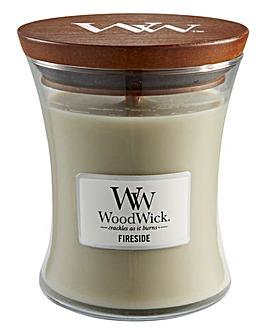 WoodWick Fireside Medium Jar Candle