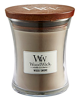 WoodWick Wood Smoke Medium Jar Candle