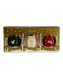 Wax Lyrical Christmas Candles Triple Set