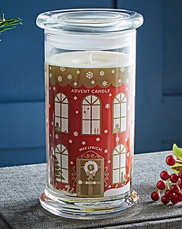 Wax Lyrical Christmas Advent Candle