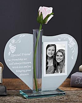Heartfelt Photo and Vase Keepsake