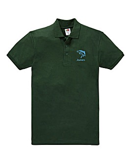 Personalised Fishing Polo Shirt
