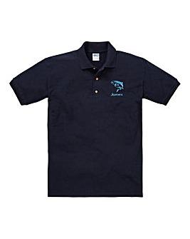 Personalised Fishing Polo Shirt