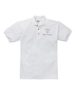 Personalised Darts Polo Shirt