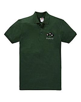 Personalised Bowls Polo Shirt