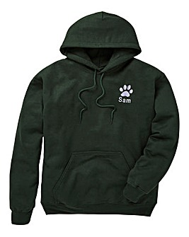 Personalised Dog Walking Hoodie