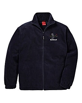 Personalised Golf Zip Up Fleece