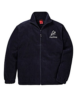 Personalised Horse Riding Zip Up Fleece