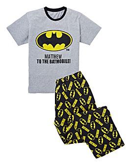 Personalised Batman Pyjamas