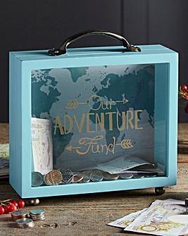 Saving for an Adventure Money Box