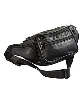 Patchwork Leather Bum Bag
