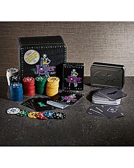 DC Comics Joker Poker Set