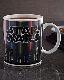 Star Wars Light Saber Heat Change Mug