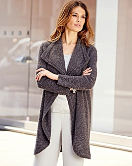 Nightingales Boucle Cardigan