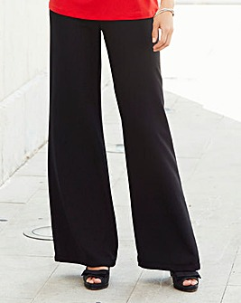 Nightingales Crepe Wide Leg Trouser
